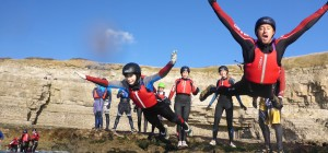 Coasteering Dive Header