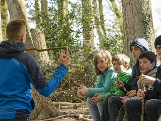 Outdoor Adventure Instructor Training for Teens in Purbeck